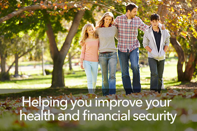 Helping you improve your health and financial security